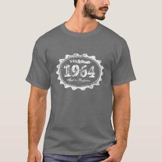 ヴィンテージ1964は完全さの円形のスタンプのワイシャツに老化しました Tシャツ