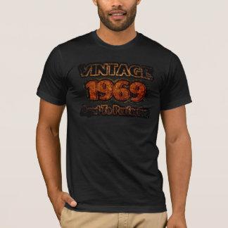 ヴィンテージ1969年-完全さに老化させる Tシャツ