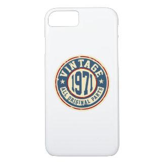 ヴィンテージ1971すべての元の部分 iPhone 7ケース