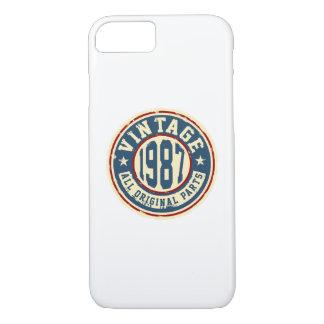 ヴィンテージ1987のすべてのオリジナルの部品 iPhone 8/7ケース