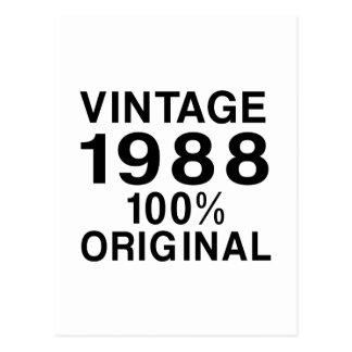 ヴィンテージ1988年 ポストカード