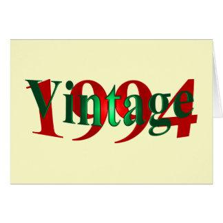 ヴィンテージ1994年 カード