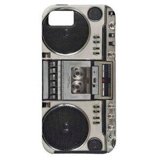 ヴィンテージ80s Boombox Ghettoblaster iPhone SE/5/5s ケース