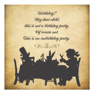 ヴィンテージ アリス 不思議 国 茶 パーティ 誕生日