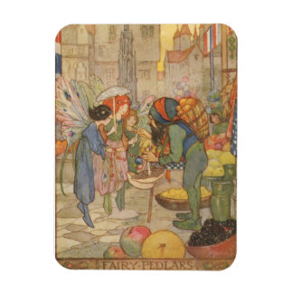 ヴィンテージ-妖精の市場の…、 マグネット