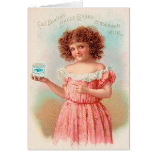 ヴィンテージ: 飲料の広告- カード