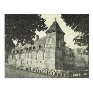 ヴィンテージBas Normande、Chateau de Carrouges ポストカード