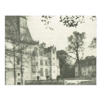 ヴィンテージBas Normande、Chateau de Fontaineアンリー ポストカード