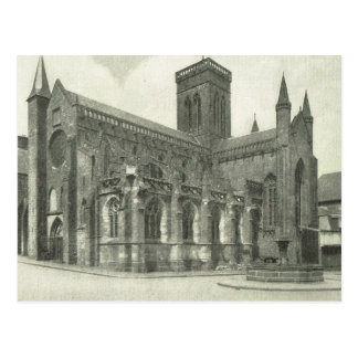 ヴィンテージBas Normande、Vire、Eglise Notre Dame ポストカード