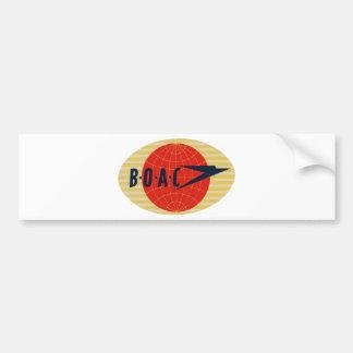 ヴィンテージBOAC航空会社のロゴ バンパーステッカー