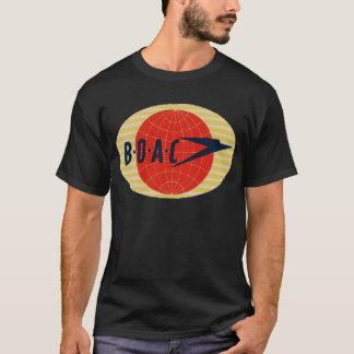ヴィンテージBOAC航空会社のロゴ Tシャツ