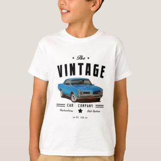 ヴィンテージGTOの自動車メーカーおよびガレージのロゴ Tシャツ