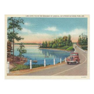 ヴィンテージHot Springsアーカンソー ポストカード