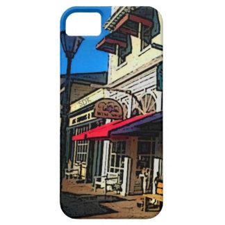ヴィンテージHot Springsヴァージニアの歴史的な下町 iPhone SE/5/5s ケース