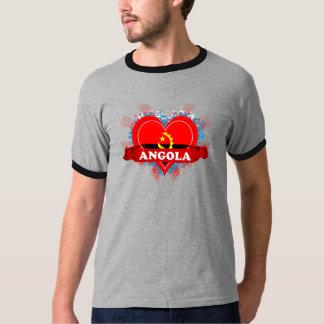 ヴィンテージI愛アンゴラ Tシャツ