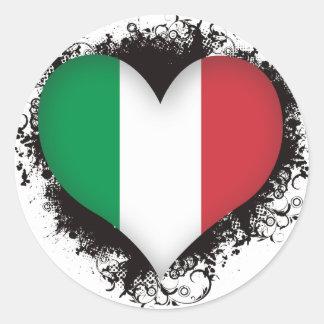 ヴィンテージI愛イタリア ラウンドシール