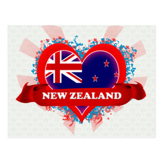 ヴィンテージI愛ニュージーランド ポストカード