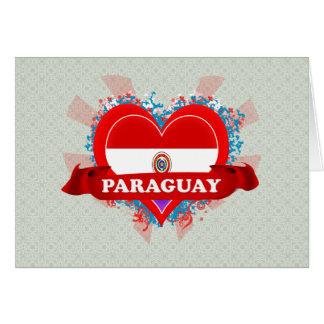 ヴィンテージI愛パラグアイ カード