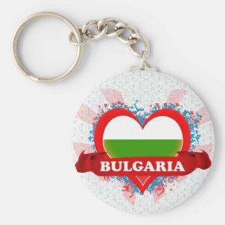ヴィンテージI愛ブルガリア キーホルダー