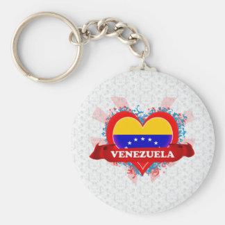 ヴィンテージI愛ベネズエラ キーホルダー