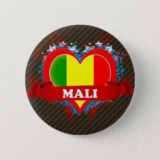 ヴィンテージI愛マリ 缶バッジ