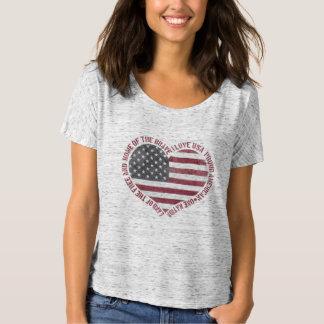 ヴィンテージI愛米国のハート Tシャツ