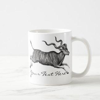 ヴィンテージKudu コーヒーマグカップ
