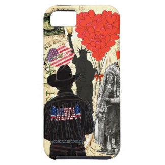 ヴィンテージMerica iPhone SE/5/5s ケース