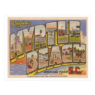 ヴィンテージMyrtle Beach ポストカード