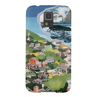ヴィンテージNantucketマサチューセッツ Galaxy S5 ケース