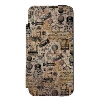 ヴィンテージSteampunk Incipio Watson™ iPhone 5 ウォレット ケース
