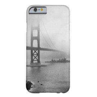 ヴィンテージUSSサンフランシスコのゴールデンゲートブリッジ BARELY THERE iPhone 6 ケース