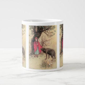 ヴィンテージWarwick Goble著赤ずきん ジャンボコーヒーマグカップ
