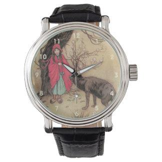 ヴィンテージWarwick Goble著赤ずきん 腕時計