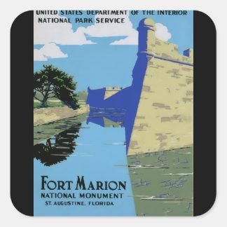 ヴィンテージWPAの城砦マリオン スクエアシール