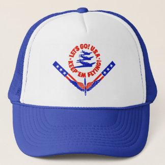ヴィンテージWWIIの軍隊の飛行隊のデザインの帽子 キャップ