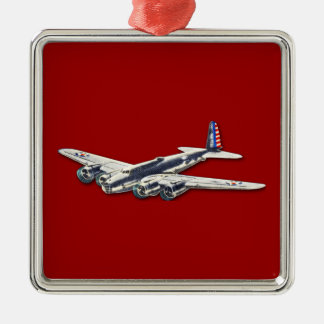 ヴィンテージWWII米国の航空機 メタルオーナメント