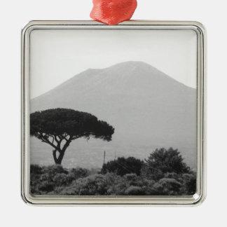 ヴェスヴィオの火山からのイタリアの記念品 メタルオーナメント