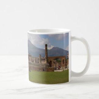 ヴェスヴィオ、ポンペイ コーヒーマグカップ