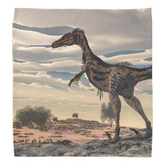 ヴェロキラプトルの恐竜- 3Dは描写します バンダナ