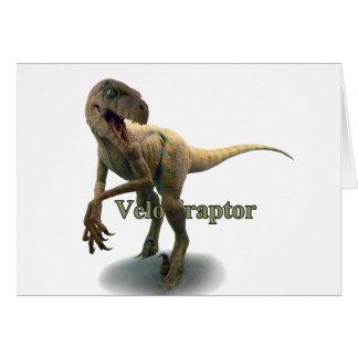 ヴェロキラプトル カード