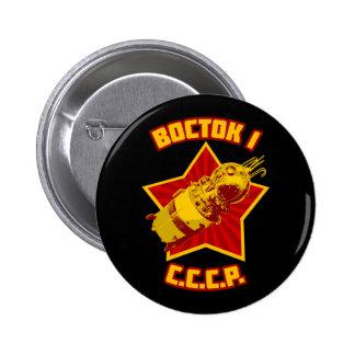 ヴォストーク1ボタン 5.7CM 丸型バッジ