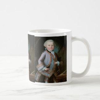 ヴォルフガング・アマデウス・モーツァルトのポートレート コーヒーマグカップ