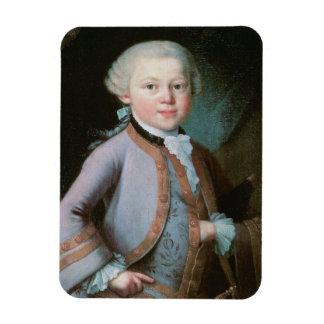 ヴォルフガング・アマデウス・モーツァルトのポートレート マグネット