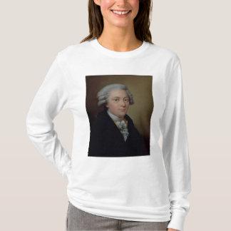 ヴォルフガング・アマデウス・モーツァルトのポートレート Tシャツ