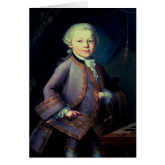 ヴォルフガング・アマデウス・モーツァルト1763年 カード