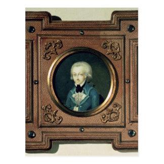 ヴォルフガング・アマデウス・モーツァルト1773年のポートレート ポストカード