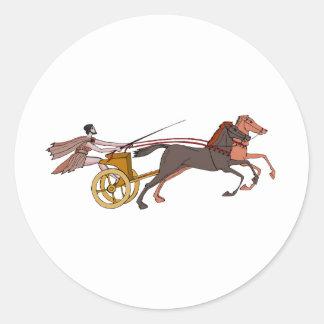 一人乗り二輪馬車のチャンピオン ラウンドシール
