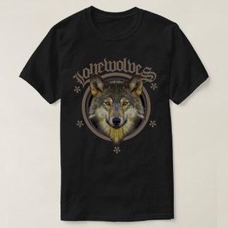 一匹狼の自然 Tシャツ