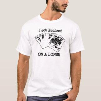 一匹狼のEuchred Tシャツ